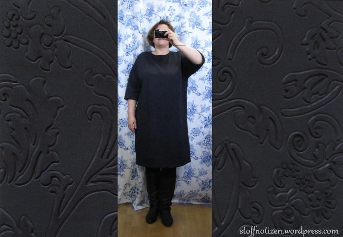 Kleid aus Scuba-Jersey